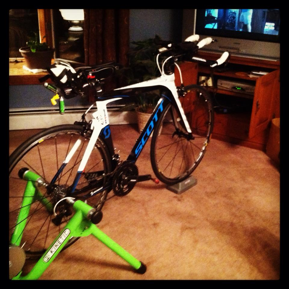 Hello bike trainer!