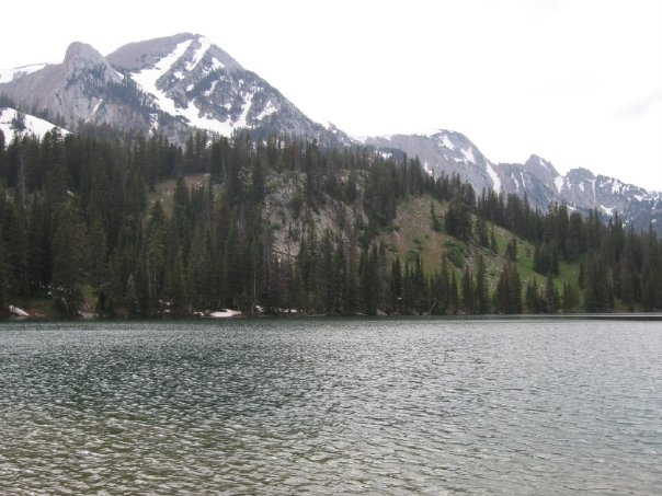 Ferry Lake in the Bridger Mountains