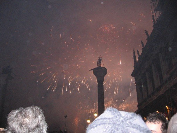New Year's Eve Celebration in San Macro Square