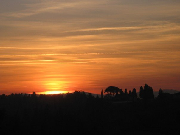 Sunset from the Piazzale Michelangelo
