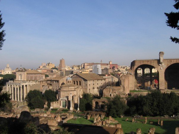 The Palantine, or old city of Rome