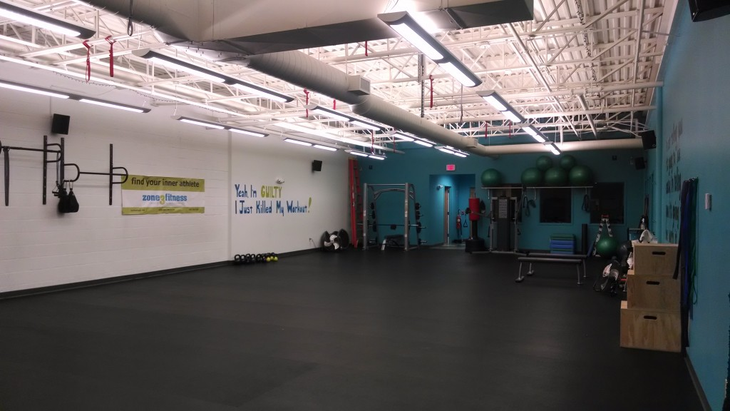 Zone 3 Fitness circuit training area